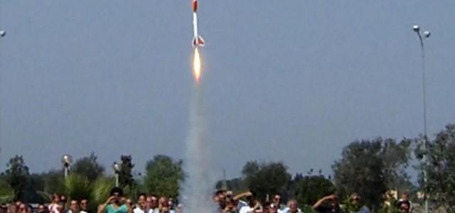 """NEL GIORNO 21 SETTEMBRE 2014 ALLE ORE 12:00 il nostro laboratorio ha lanciatoun veicolo con propulsione a razzo denominato """"BARRACUDA"""" ad un'altezza di circa 627 metri nel territorio di Cutrofiano […]"""