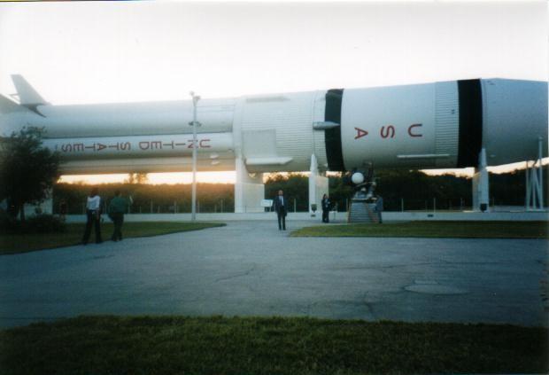 Visita al Kennedy Space Center, Florida, USA Novembre 2000